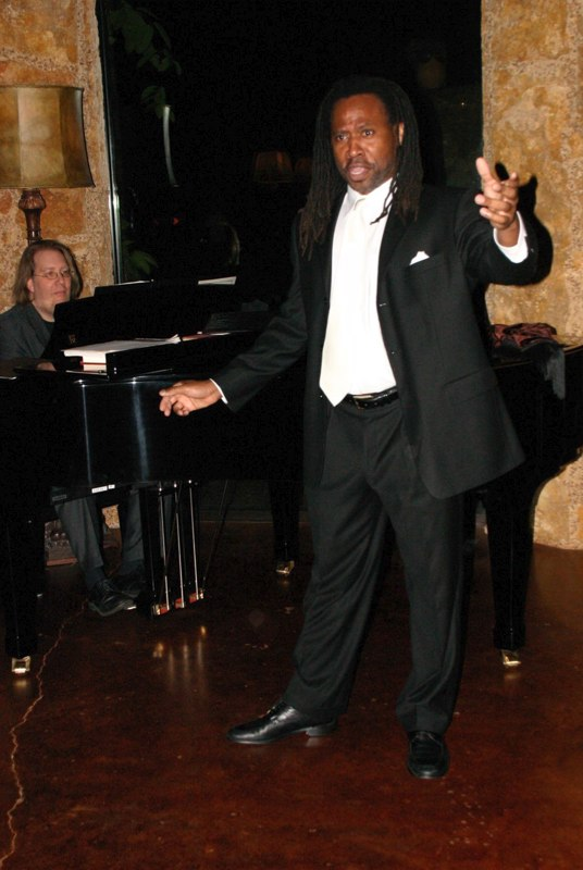 Toreador, Raul Orlando Edwards and Maestro Stephen Dubberly